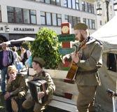 Moscú, día de la victoria Foto de archivo libre de regalías