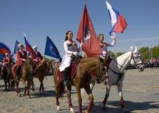 Moscú, día de la victoria Imagen de archivo