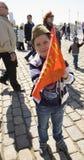 Moscú, día de la victoria del día de fiesta Imagen de archivo libre de regalías