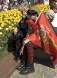 Moscú, día de la victoria del día de fiesta Foto de archivo