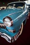 MOSCÚ - 9 DE MARZO DE 2018: GAZ-M21 Volga 1960 en la exposición Oldtim Foto de archivo libre de regalías