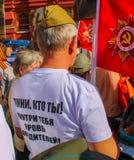Moscú 9 de mayo Imágenes de archivo libres de regalías