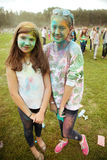 MOSCÚ, EL 6 DE SEPTIEMBRE DE 2014: Color Fest septiembre de 2014 en Moscú Imágenes de archivo libres de regalías