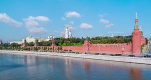 Moscú el Kremlin en Rusia almacen de metraje de vídeo