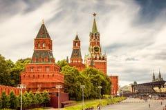 Moscú el Kremlin en Rusia imágenes de archivo libres de regalías