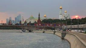 Moscú el Kremlin, Moscú, Rusia almacen de video
