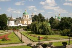 Moscú. El monasterio Sagrado-Danilovsky. Imagen de archivo libre de regalías