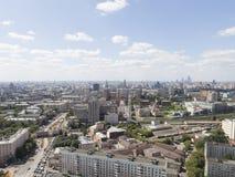 Moscú en el buen tiempo, Rusia Imágenes de archivo libres de regalías
