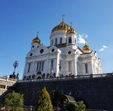 Moscú, entrada de la catedral Foto de archivo