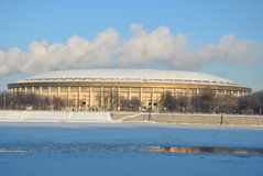 Moscú. Estadio Luzhniki Imagen de archivo