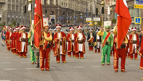 Moscú, festival Imagen de archivo