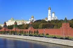 Moscú Kremlin, Rusia. Imágenes de archivo libres de regalías