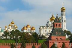 Moscú Kremlin, Rusia Imágenes de archivo libres de regalías