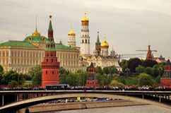 Moscú Kremlin Sitio del patrimonio mundial de la UNESCO Fotografía de archivo libre de regalías
