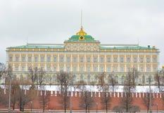 moscú Palacio magnífico de Kremlin Imagen de archivo libre de regalías