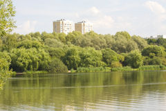 Moscú, parque Pokrovskoye-Streshnevo-Glebovo Imágenes de archivo libres de regalías