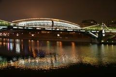 Moscú. Puente Imagen de archivo libre de regalías