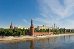 Moscú rusa Kremlin Imágenes de archivo libres de regalías