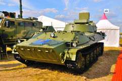 MOSCÚ, RUSIA - AGOSTO DE 2015: SNAR-10 Fred grande presentado en el 12t Fotos de archivo