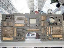 MOSCÚ, RUSIA - 11 DE AGOSTO DE 2018: Barra de navegación vieja, panel de control  fotografía de archivo libre de regalías
