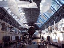 MOSCÚ, RUSIA - 11 DE AGOSTO DE 2018: Espacio del pabellón de VDNH imagenes de archivo