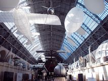 MOSCÚ, RUSIA - 11 DE AGOSTO DE 2018: Espacio del pabellón de VDNH imagen de archivo