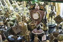 Moscú, Rusia - 10 de enero de 2015 recuerdos hechos de Imagenes de archivo
