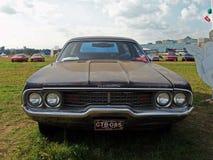 MOSCÚ, RUSIA - 15 de julio de 2008: ` De Autoexotic del ` de la exposición del carro de la furia de Plymouth 2008 fotografía de archivo
