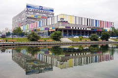 MOSCÚ, RUSIA - 20 DE JUNIO: Centro técnico de Ostankino - televis Imagen de archivo libre de regalías