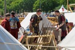 MOSCÚ, RUSIA - 7 DE JUNIO DE 2015: Los tiempos y las épocas del festival Foto de archivo libre de regalías