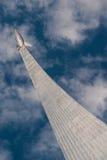 MOSCÚ, RUSIA - 20 DE MAYO DE 2009: Monumento a los conquistadores de Spase Fotos de archivo