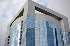 moscú RUSIA - 23 DE MAYO 2015 El centro de negocios del International de Moscú MIBC es uno de los proyectos de construcción más g Foto de archivo libre de regalías