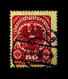 MOSCÚ, RUSIA - 24 DE NOVIEMBRE DE 2017: Un sello impreso en Austria s Foto de archivo libre de regalías
