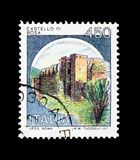 MOSCÚ, RUSIA - 24 DE NOVIEMBRE DE 2017: Un sello impreso en el sho de Italia Fotos de archivo