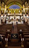 Moscú/Rusia - 25 de octubre de 2018: Sinagoga de Moscú en el sanc foto de archivo