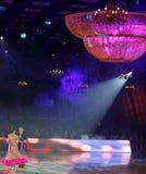 Moscú, Rusia, la 3a de diciembre de 2017, baile de hombres y wo imagenes de archivo