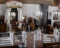 Moscú/Rusia octubre, 25, 2018: Sinagoga coral de Moscú E imagenes de archivo