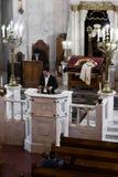Moscú/Rusia octubre, 25, 2018: Sinagoga coral de Moscú E imagen de archivo libre de regalías
