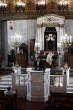Moscú/Rusia octubre, 25, 2018: Sinagoga coral de Moscú E foto de archivo