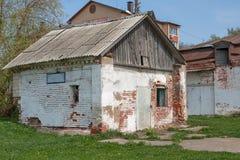Moscú, Rusia Señorío Aleksandrovo-Shchapovo Edificio viejo del señorío - fragua fotografía de archivo libre de regalías
