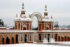 Moscú. Tsaritsino Foto de archivo libre de regalías