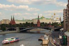 Moscú, vista del Kremlin. Rusia Foto de archivo