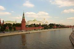Moscú, vista del Kremlin. Rusia Fotografía de archivo