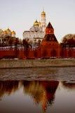 Moscú Kremlin Foto de color Imagen de archivo