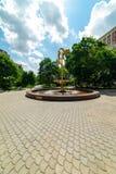 mosc? Muchachas de la escultura, bulevar ucraniano Parques naturales fotografía de archivo libre de regalías