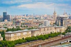 Moscú - paisaje de la ciudad Imágenes de archivo libres de regalías
