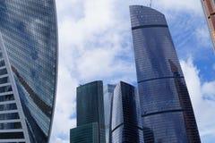 Mosca è la capitale della Russia Fotografia Stock