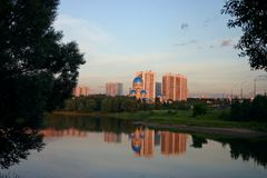 Mosca Fotografie Stock Libere da Diritti