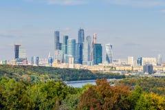 Mosca-città Fotografie Stock Libere da Diritti