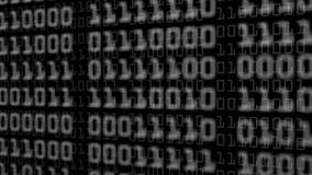 Mosca completamente dos blocos de números binários ilustração do vetor